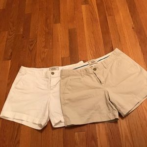 """Old navy 5"""" rise shorts"""